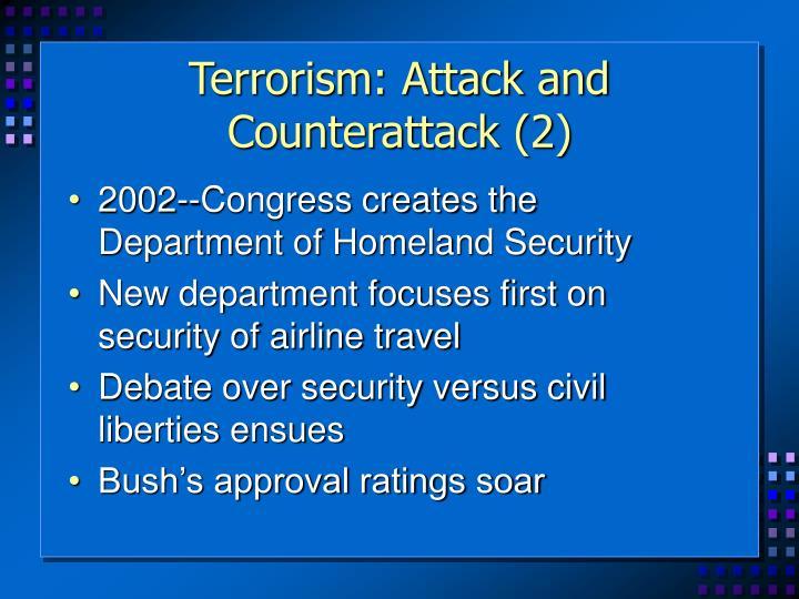 Terrorism: Attack and Counterattack (2)
