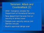 terrorism attack and counterattack 2