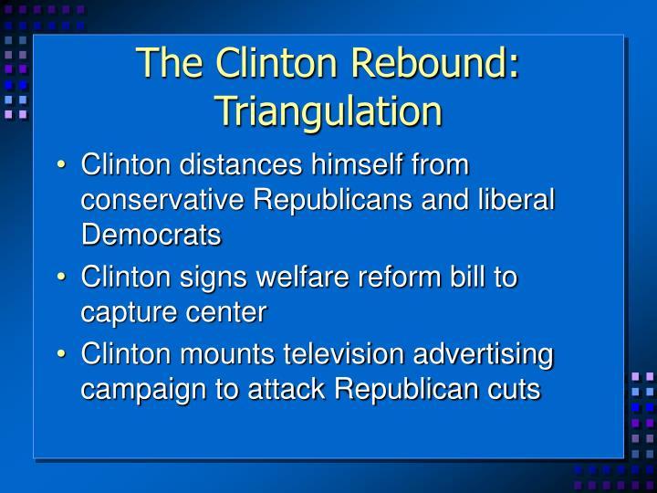 The Clinton Rebound: