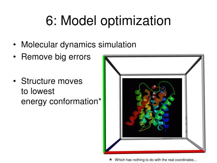 6: Model optimization
