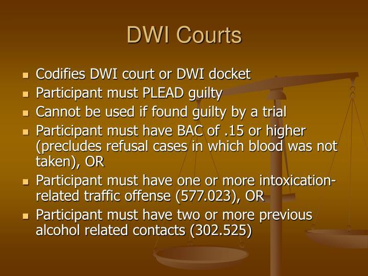 DWI Courts