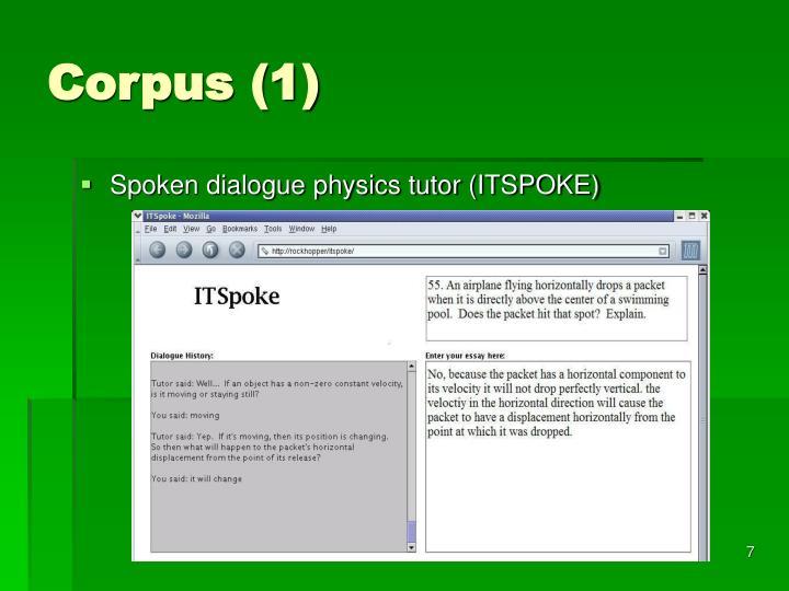 Corpus (1)