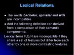 lexical relations4