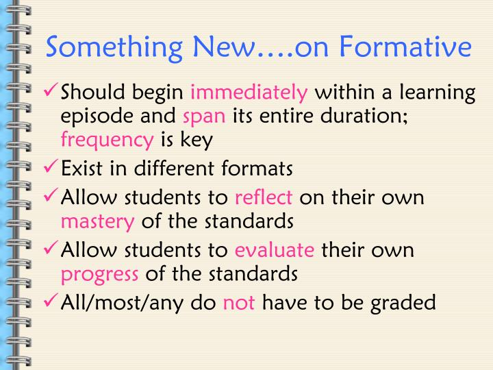 Something New….on Formative
