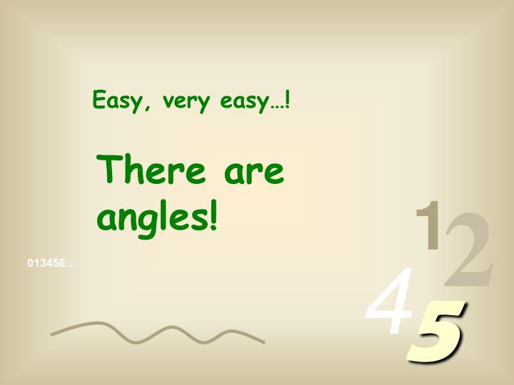 Easy, very easy…!