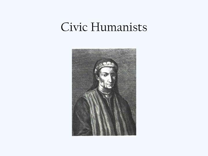Civic humanists