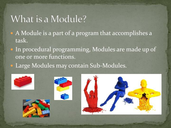 What is a module