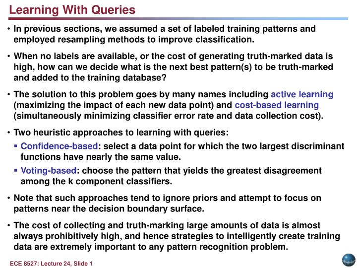 Learning With Queries