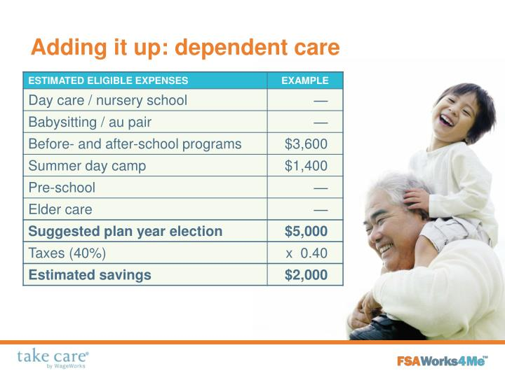 Adding it up: dependent care