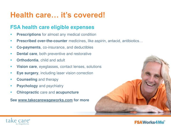 Health care… it's covered!