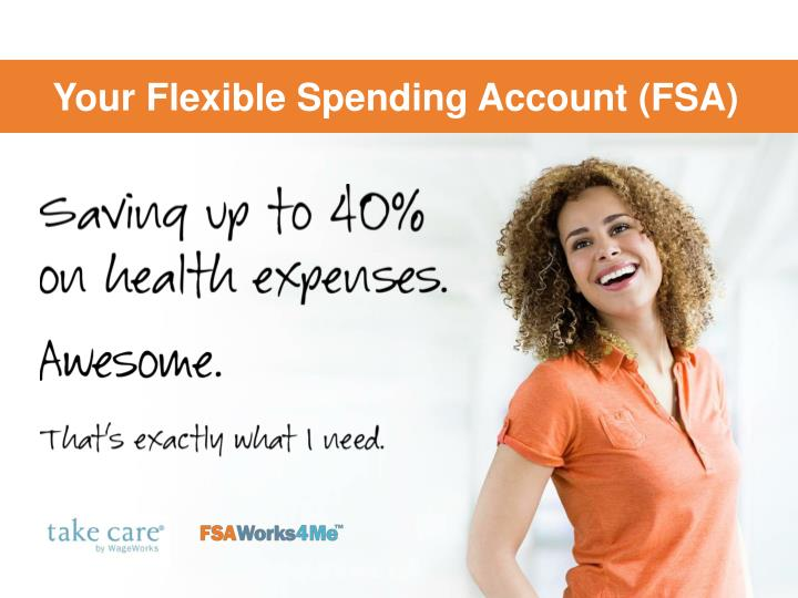 your flexible spending account fsa