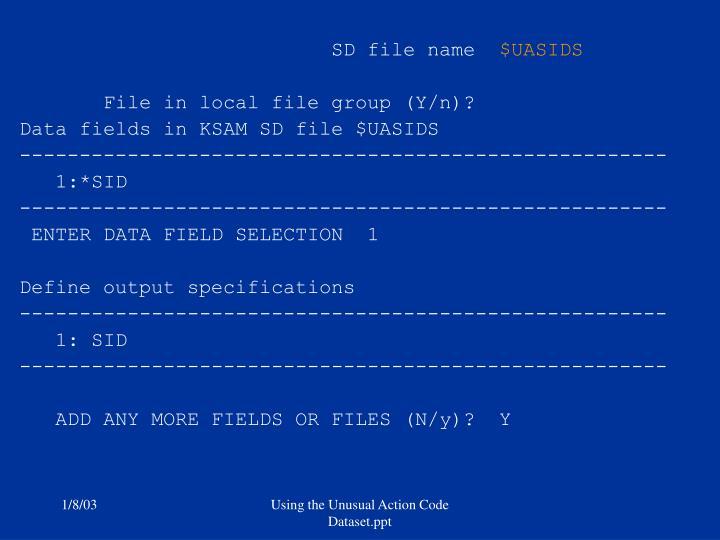 SD file name