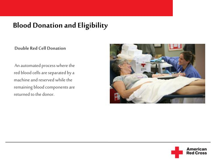 Blood Donation and Eligibility