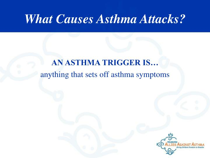 AN ASTHMA TRIGGER IS…