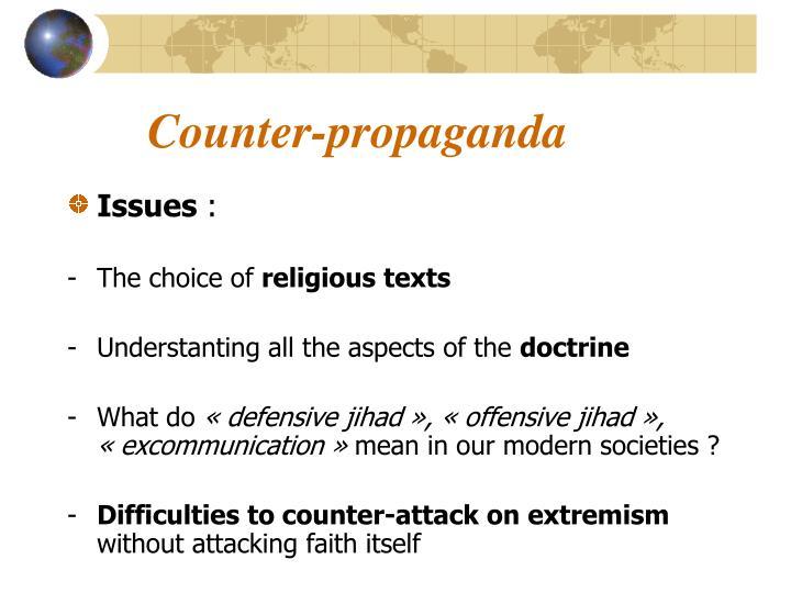 Counter-propaganda