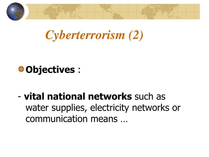 Cyberterrorism (2)