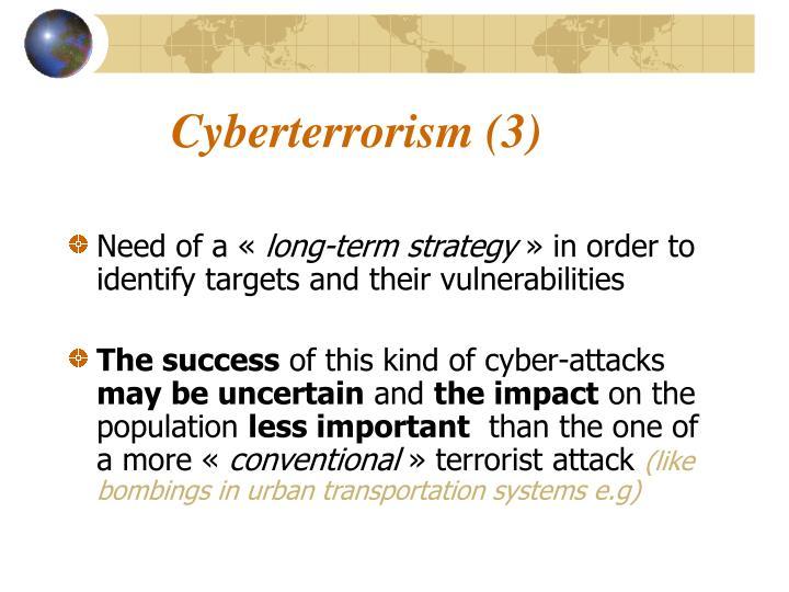 Cyberterrorism (3)