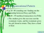 iii organizational pattern3