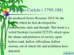 thomas carlyle 1795 1881