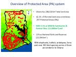 overview of protected area pa system