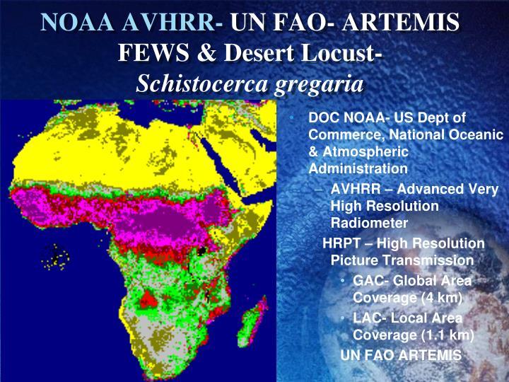 NOAA AVHRR-