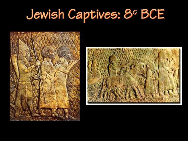 Jewish Captives: 8