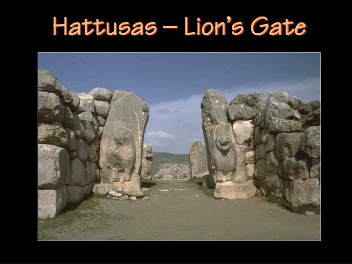 Hattusas – Lion's Gate