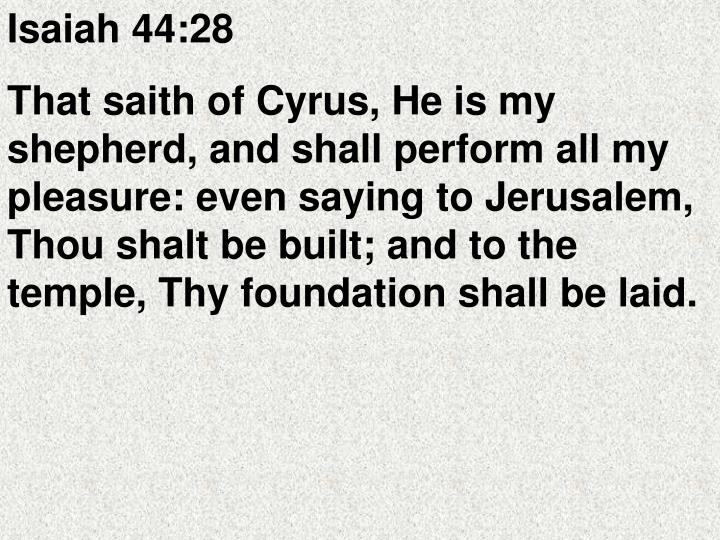 Isaiah 44:28