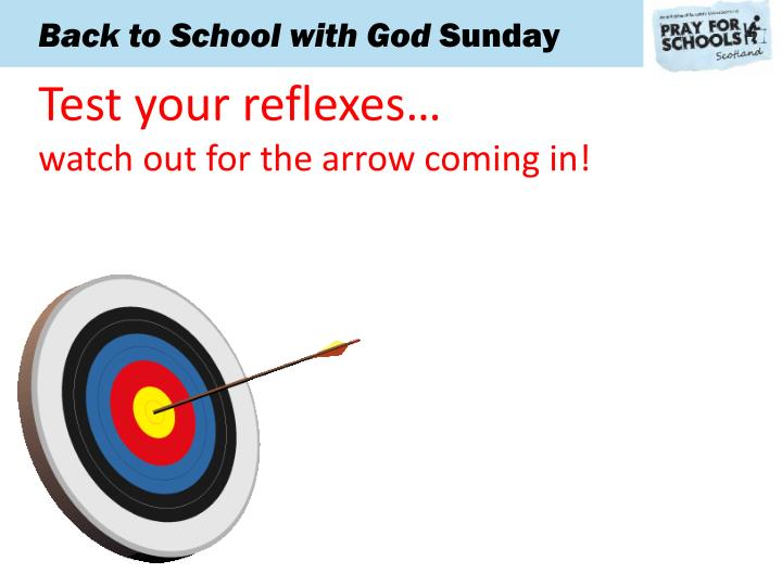 Test your reflexes…