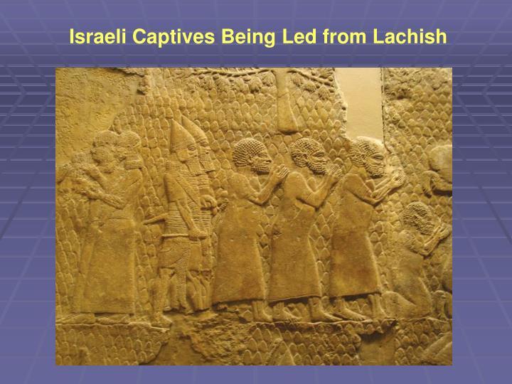 Israeli Captives Being Led from Lachish