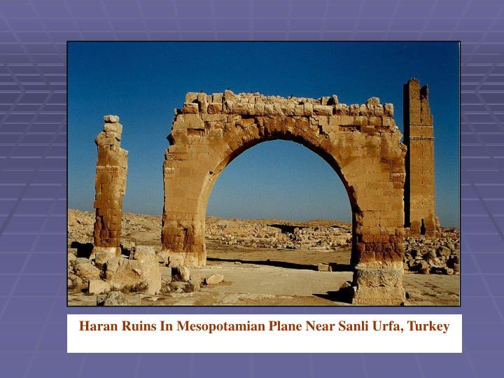 Haran Ruins In Mesopotamian Plane Near Sanli Urfa, Turkey