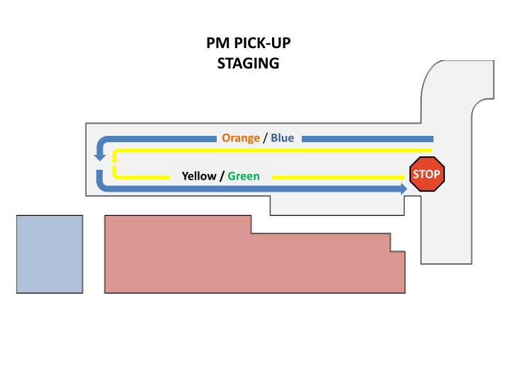 PM PICK-UP STAGING