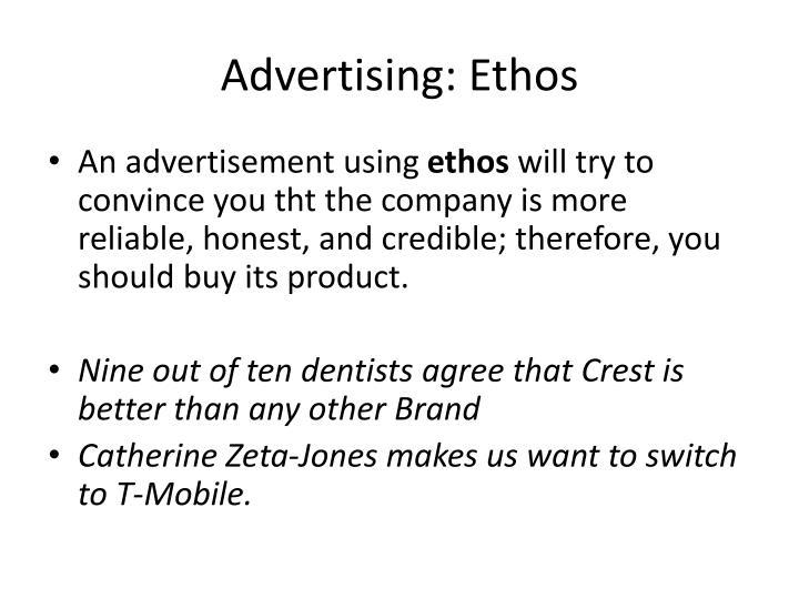 Advertising: Ethos