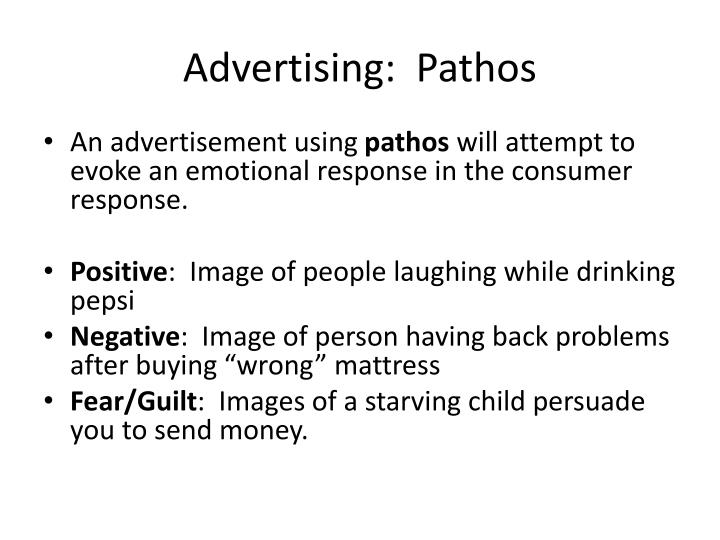 Advertising:  Pathos