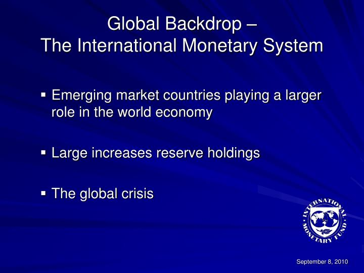 Global Backdrop –