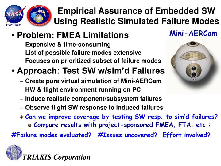 Problem: FMEA Limitations