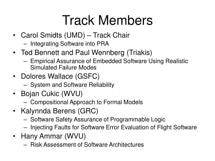 Track Members