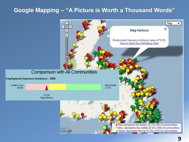 """Google Mapping – """"A Picture is Worth a Thousand Words"""""""