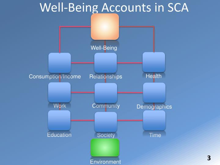 Well-Being Accounts in SCA