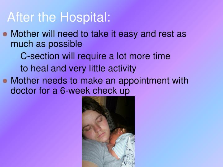 After the Hospital: