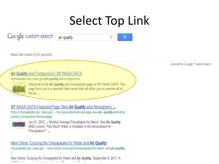 Select Top Link