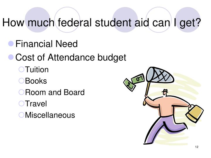How much federal student aid can I get?