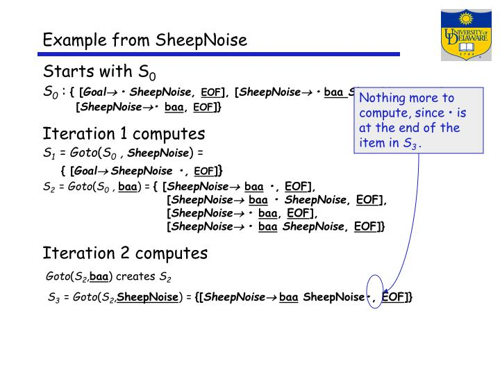 Example from SheepNoise