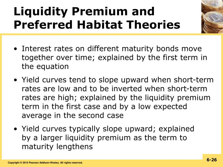 Liquidity Premium and Preferred Habitat Theories