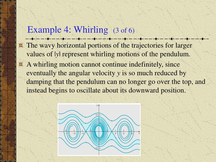 Example 4: Whirling