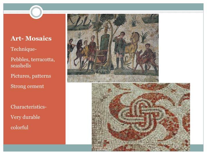Art- Mosaics