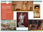 art popular objects of on