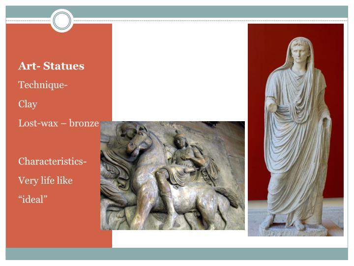 Art- Statues