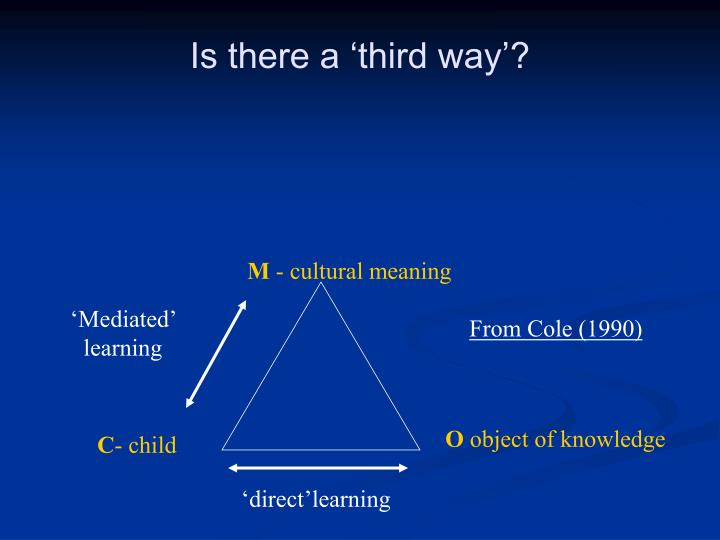 Is there a 'third way'?