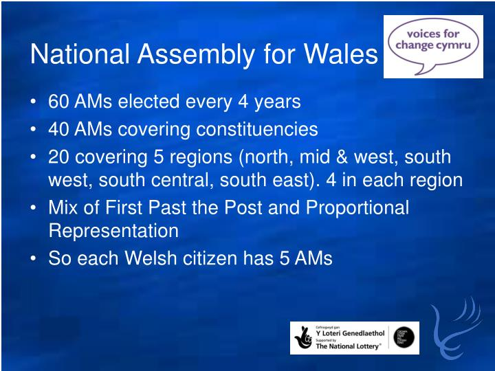 National Assembly for Wales